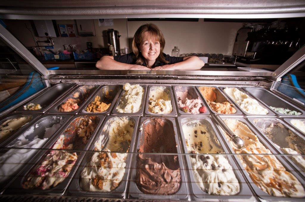 Helen Ice Cream Selection